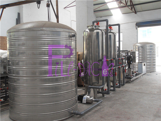 SUS304 Water Treatment System , Automatic Drinking Water Purifying Systems