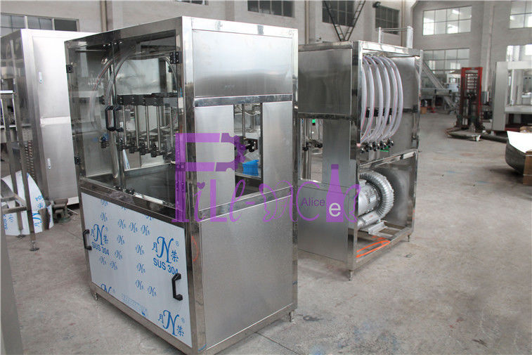 High Pressure Blow Drying Machine Soft Drink Processing Line For Blowing Bottle Bottom