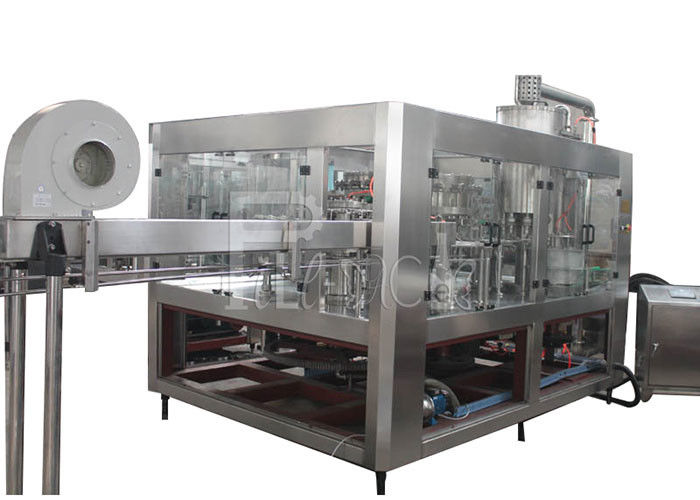 Carbonated Drink Beverage PET Plastic Glass 3 In 1 Monobloc Bottle Filling Machine / Equipment / Line / Plant / System