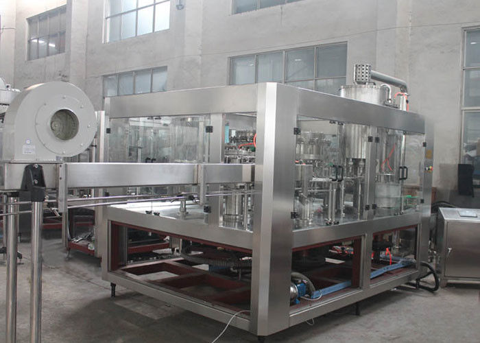 PET Plastic Glass 3 In 1 Monobloc Gas Drink Beverage Water Wine Bottle Production Machine / Equipment / Plant / System